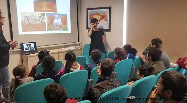 İşitme engelli öğrencilere özel deprem eğitimi