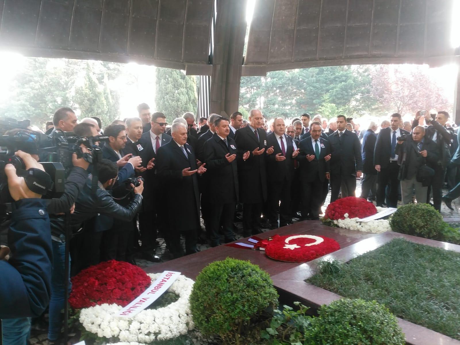 Turgut Özal ölümünün 26. Yılında devlet ve millet unutmadı
