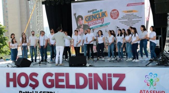 19 Mayıs Ataşehir'de büyük coşkuyla kutlandı