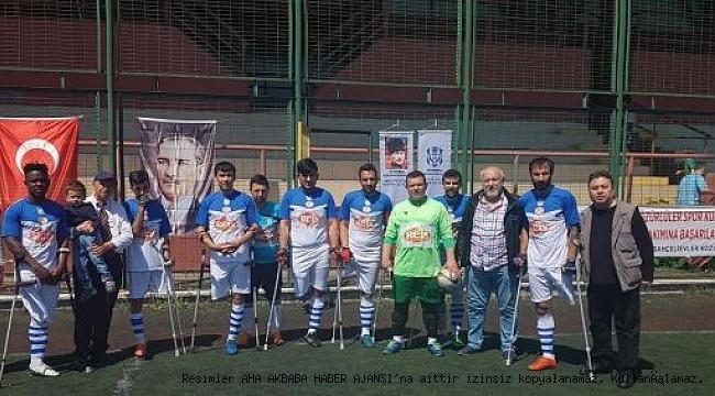 Ampute Futbol Süper Lig 22 Golle Sona Erdi