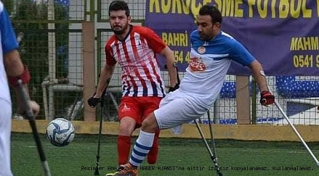 Ampute Futbol Süper Ligde Zorlu Viraja Girildi