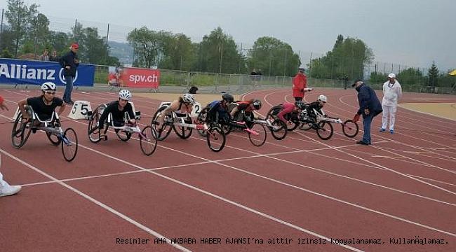 Bağcılarlı atletler İsviçre'de 3 madalya kazandı