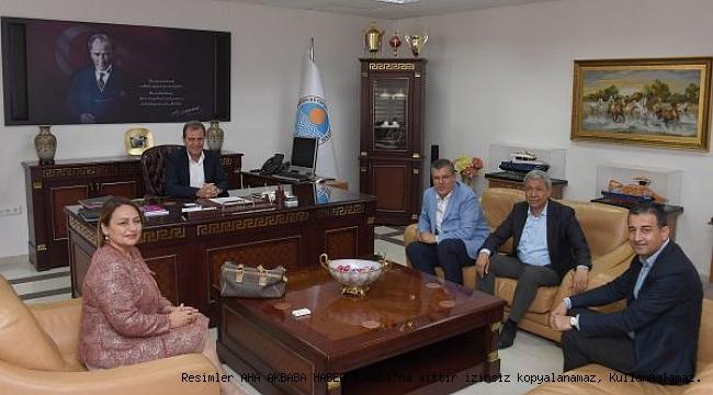CHP Adana Milletvekillerinden Başkan Seçer'e Ziyaret