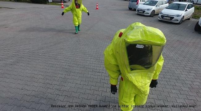 Gönüllü İtfaiyecilere kimyasal eğitimi verildi