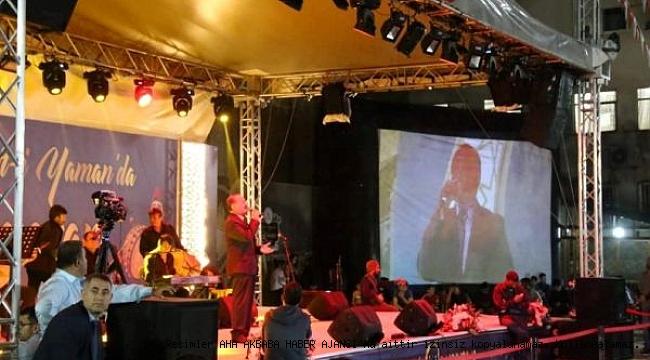 Kâhtalı Hamido'dan Muhteşem Konser