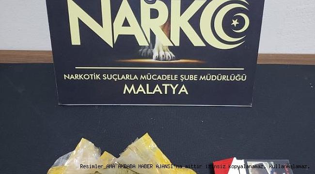 Malatya'da Uyuşturucu Operasyonları