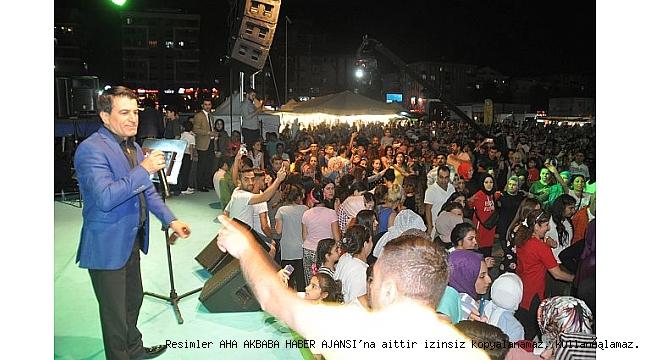1. Malatya kayısı Festival kapanışında Mehmet Balaban rüzgarı esti