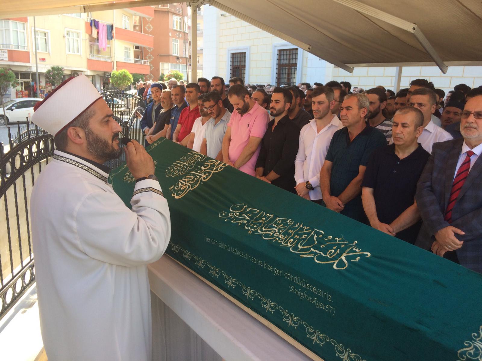 Ahmet Hamdi Gözütok dualarla ebedi yolculuğuna uğurlandı