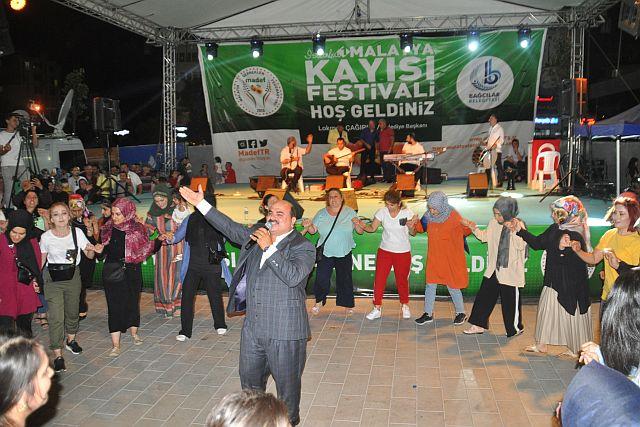 Malatya 1. Kayısı Festivali, İstanbul'u  sanatçılarıyla   salladı