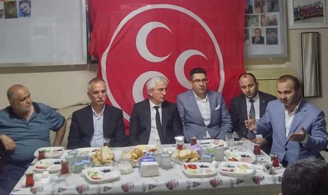 MHP tüm değerleriyle 23 Haziran için  Güngören'de seferberlik başlattı