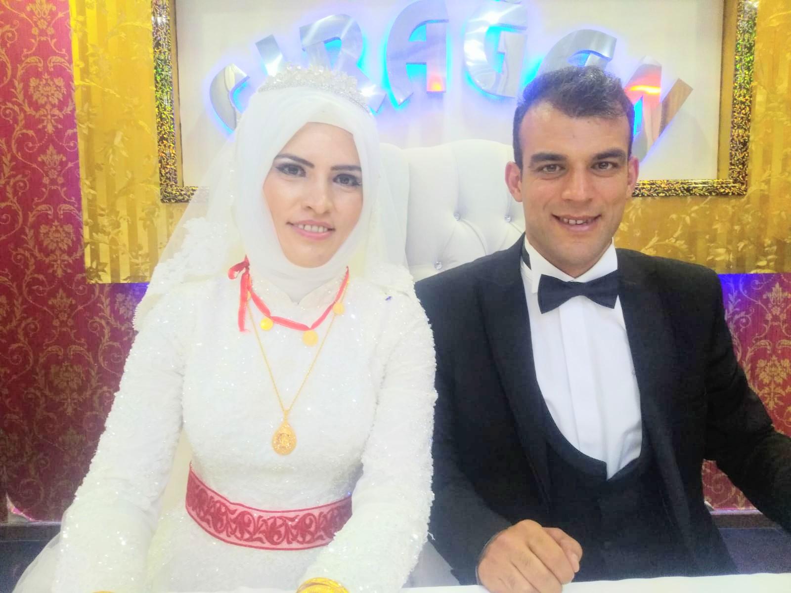 Duygu Akbaba ve Mehmet Yavuz Şahin dünya evine girdiler