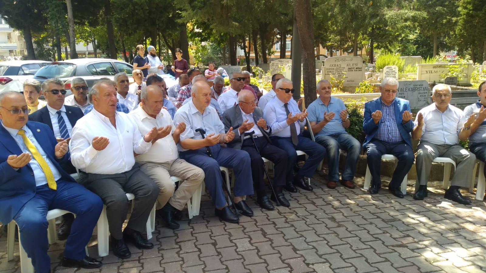 İdris Keskinci vefatının 2. Yıl dönümünde dualarla yad edildi