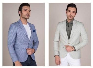 Kot Ceket Erkek Tasarımları
