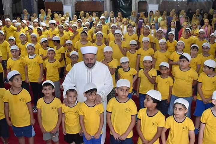 Veysel Karani camisi Yaz Kur'an kursu kıskandırıyor
