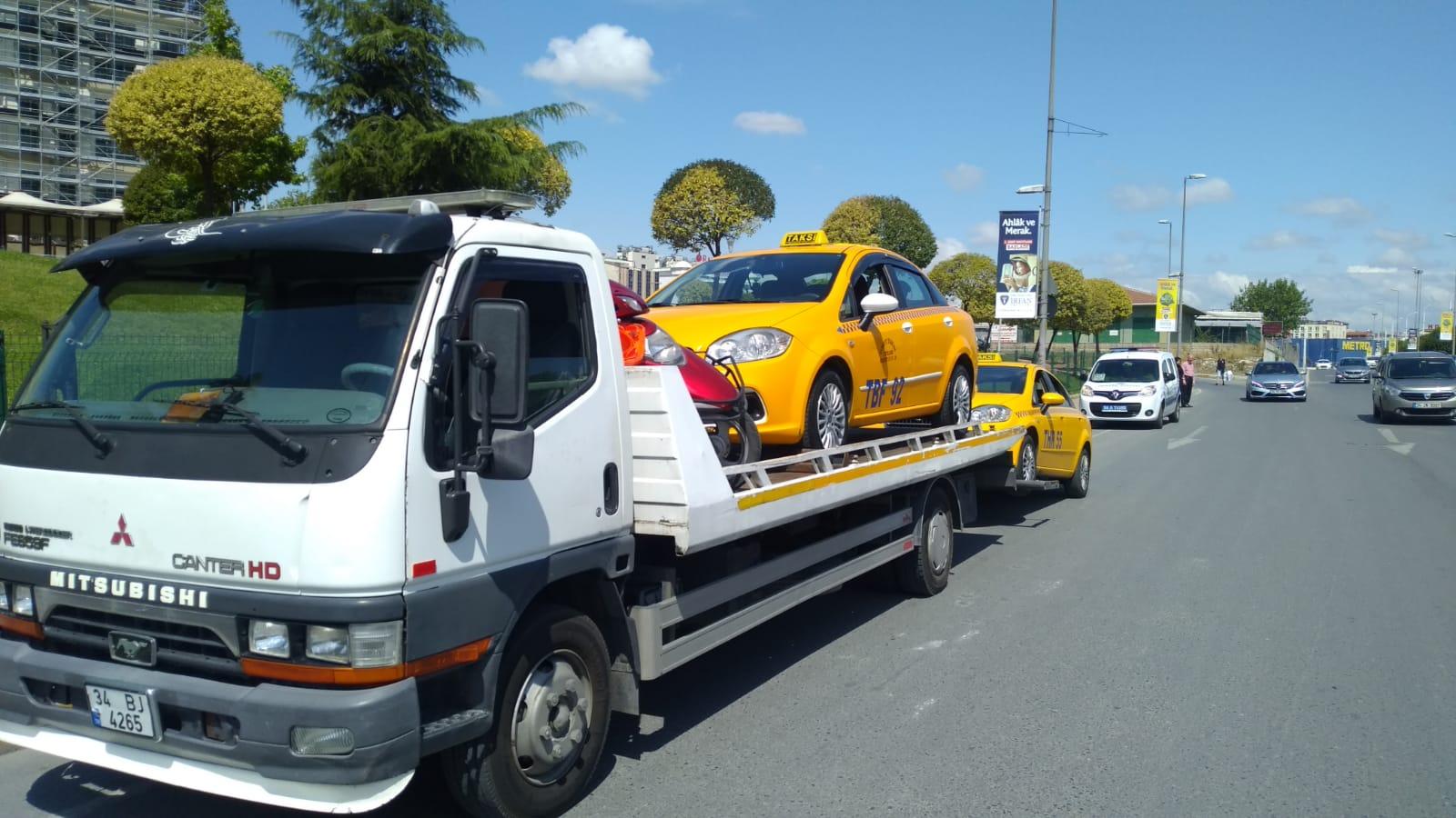 Kaçak taksi sürücüleri ceza'dan kurtulamıyor