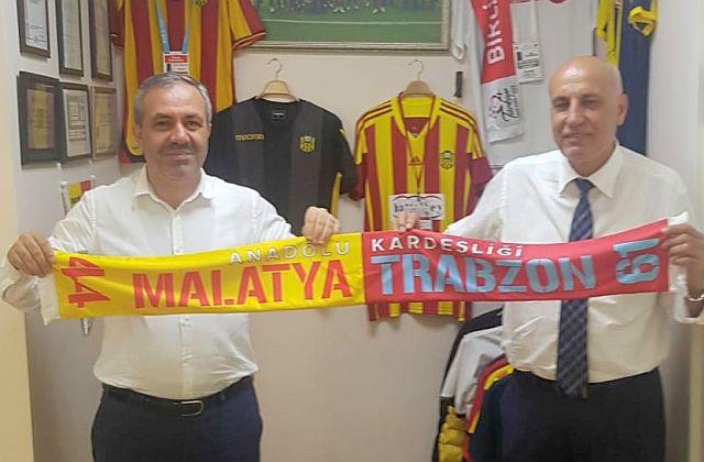 Malatya ve Trabzon kardeşliği bir kez daha tescillendi