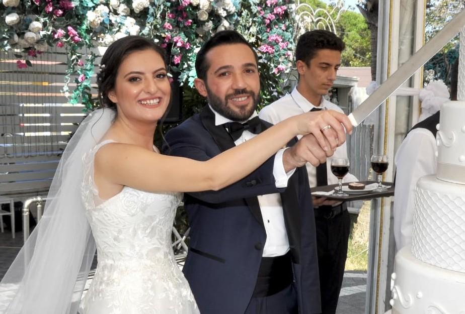 Avukat Büşra Korkmaz hayatını Mimar Süleyman Toptaş'la birleştirdi