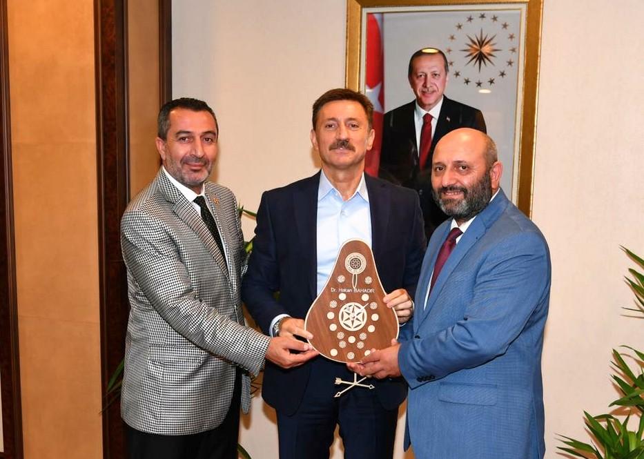 Dr. Hakan Bahadır Ata Sporları Konfederasyonu ağırladı