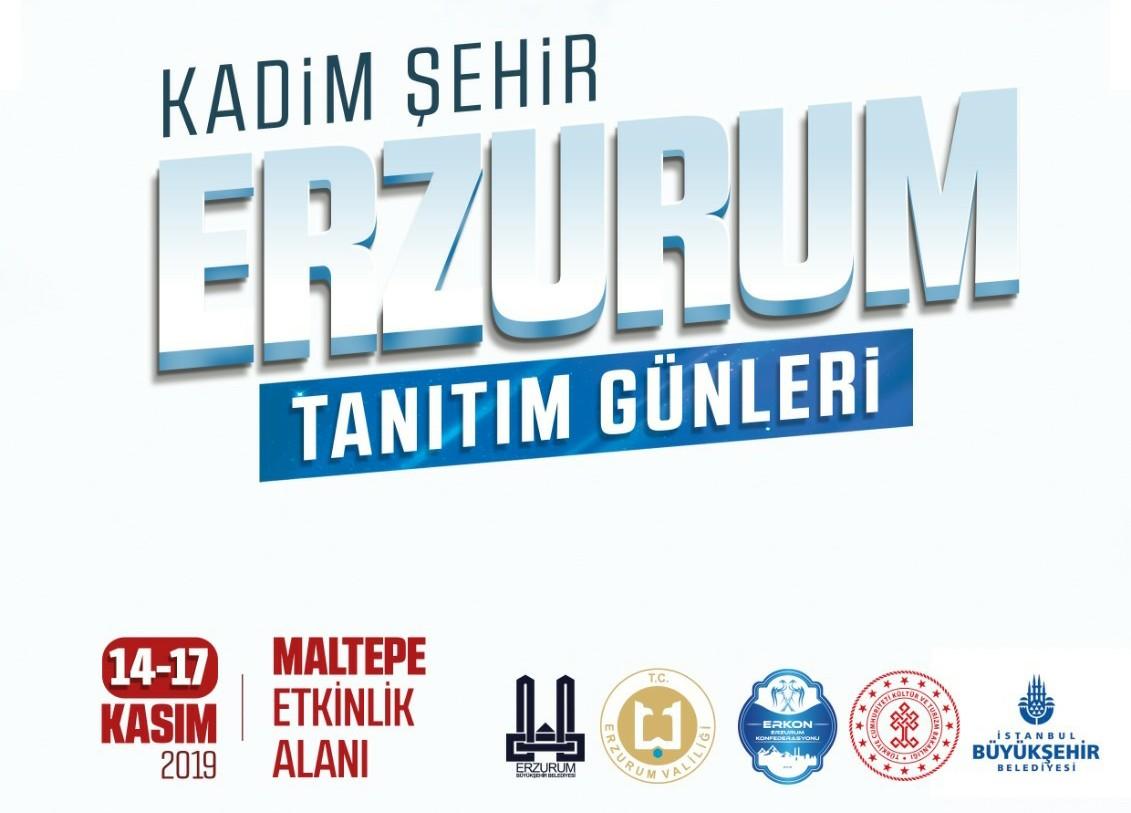 Kadim Şehir Erzurum tanıtım günleri başlıyor