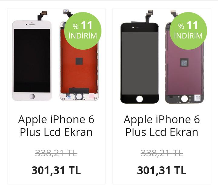 İphone 6 Plus Ekran Fiyatı Orjinal