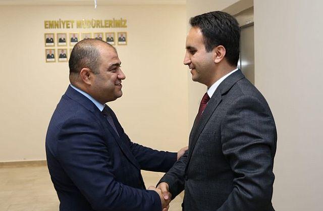 Mardin Emniyet müdürü Hakan Çetinkaya'ya tebrikler yağıyor