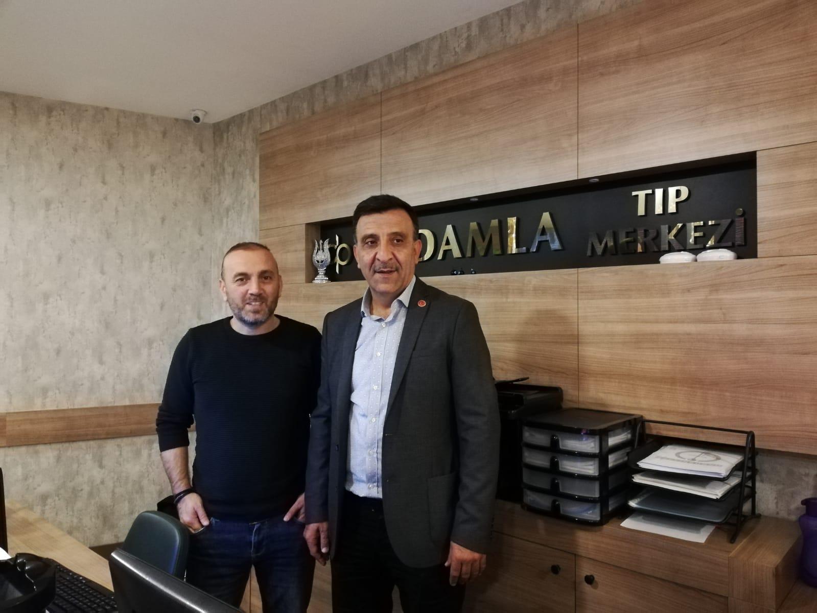 Öz Alibeyköy Sporcularının Sağlığı Damla Tıp Merkezine Emane