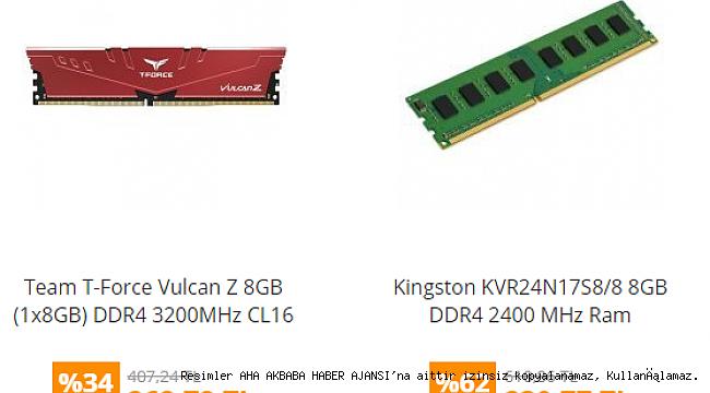 Ram Fiyatları Nedir?
