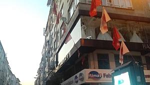 Tahliye edilen binalara hırsızlar dadandı