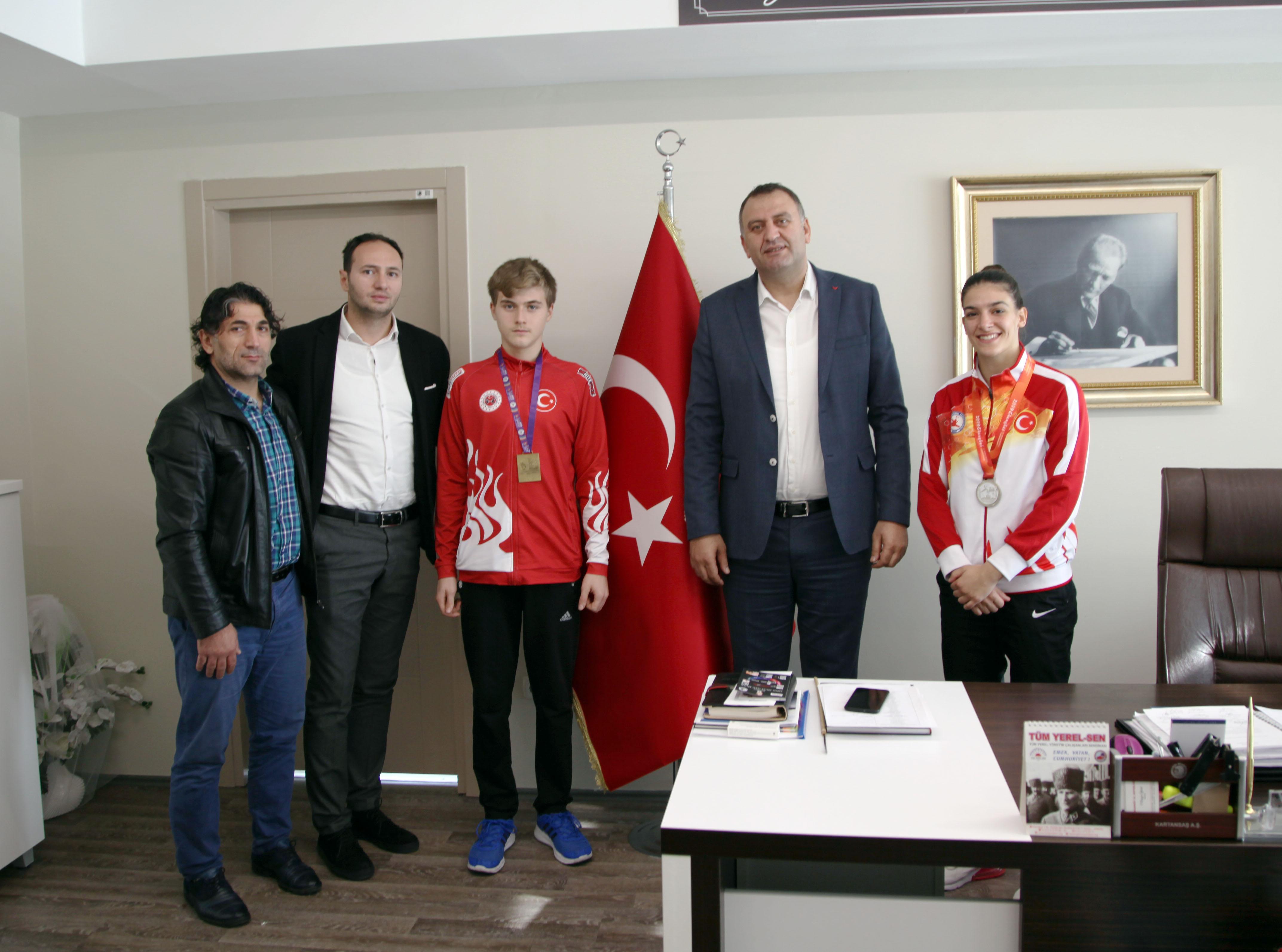 Kartallı Sporculardan Uluslararası Başarı