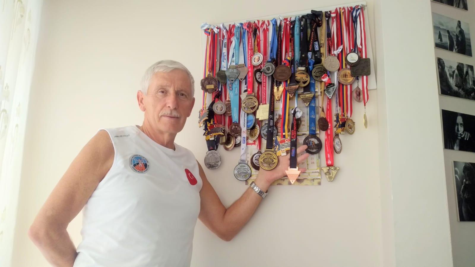 Kırkından sonra Kemal Ertik hayatını madalyalarla doldurdu