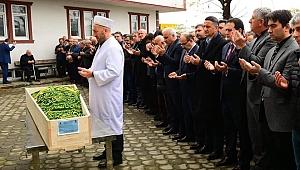 Necati Dervişoğlu dualarla ebediyete uğurlandı