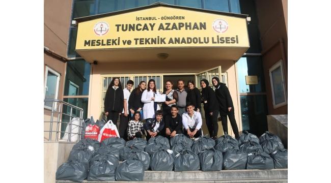 Tuncay Azaphan öğrencileri Çanakkale'deki kardeşlerine
