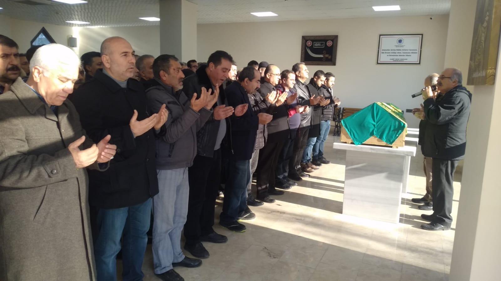 Ali Memiş gözyaşlarıyla ebedi yolculuğuna uğurlandı