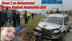 Ecem Akgün ve babaanne Emine Akgün'ü ecel kaldırımda yakaladı