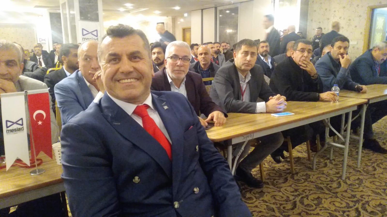 Mesiad kongresinde güven tazelendi, Bayrak Yusuf Gecü'de