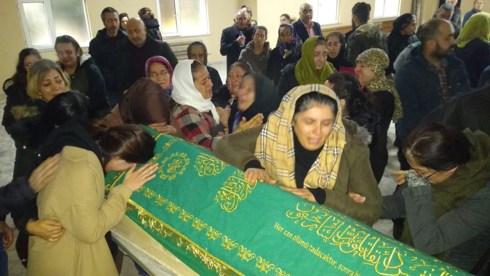 Turan Taş'ın son vedasında gözyaşları sel oldu