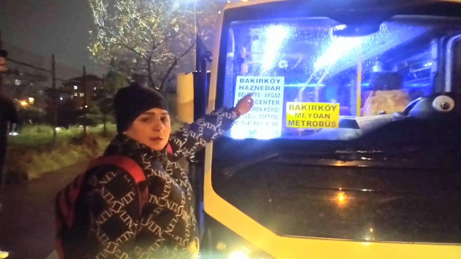 Bağcılar'da yolcu  minibüsüne silahlı saldırı