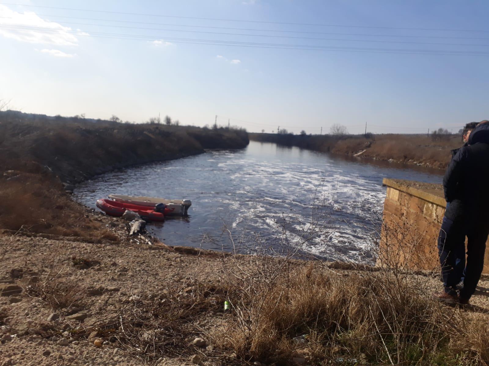Ergene Nehri Mümin Güven'in mezarı oldu