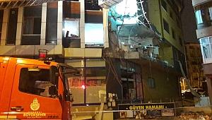 Güngören'de doğalgaz patlaması, 1 kişi yaralı