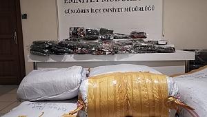 Tekstil hırsız çetesi çökertildi