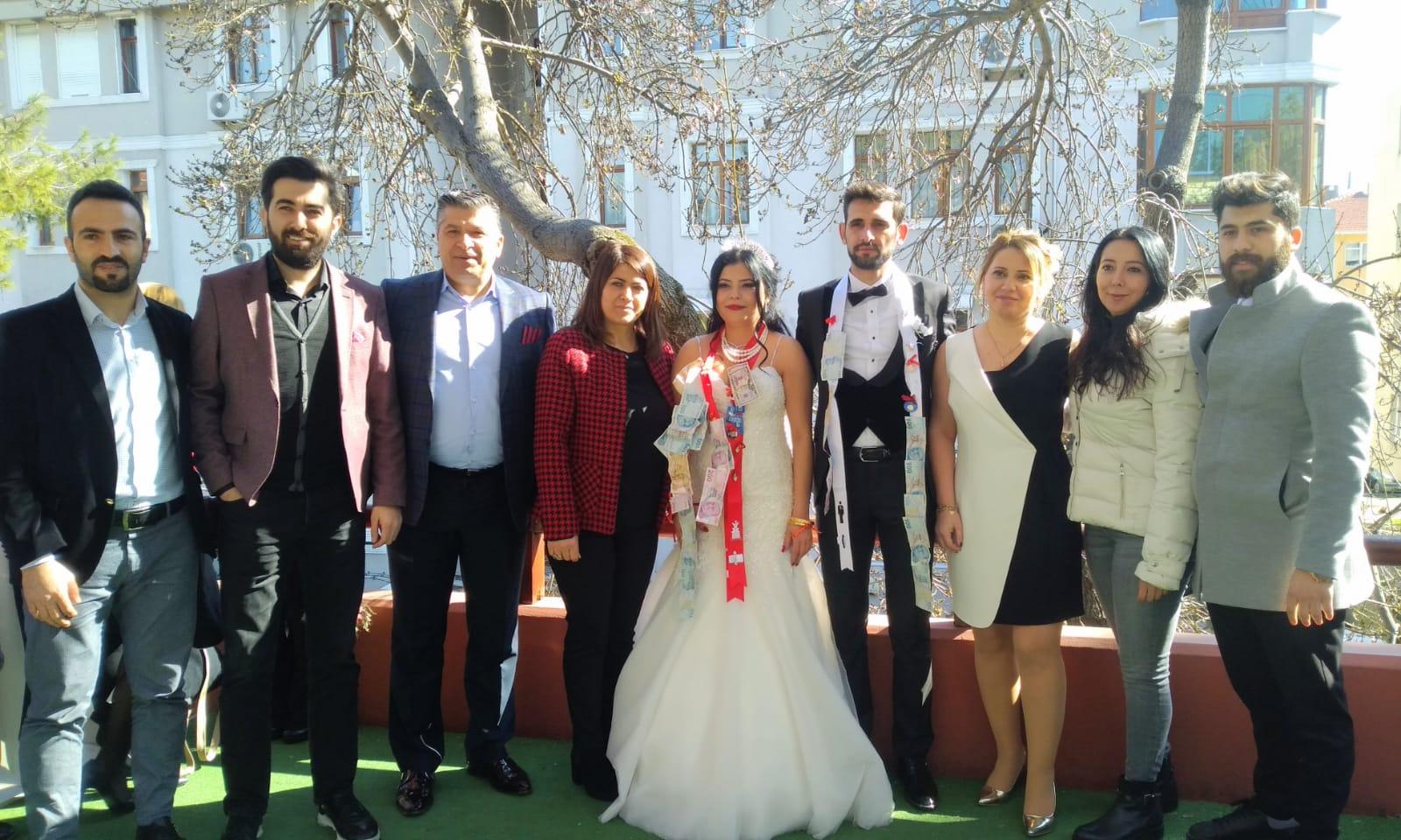 Gülba ve Ekrem Alagöz muhteşem törenle dünya evine girdi