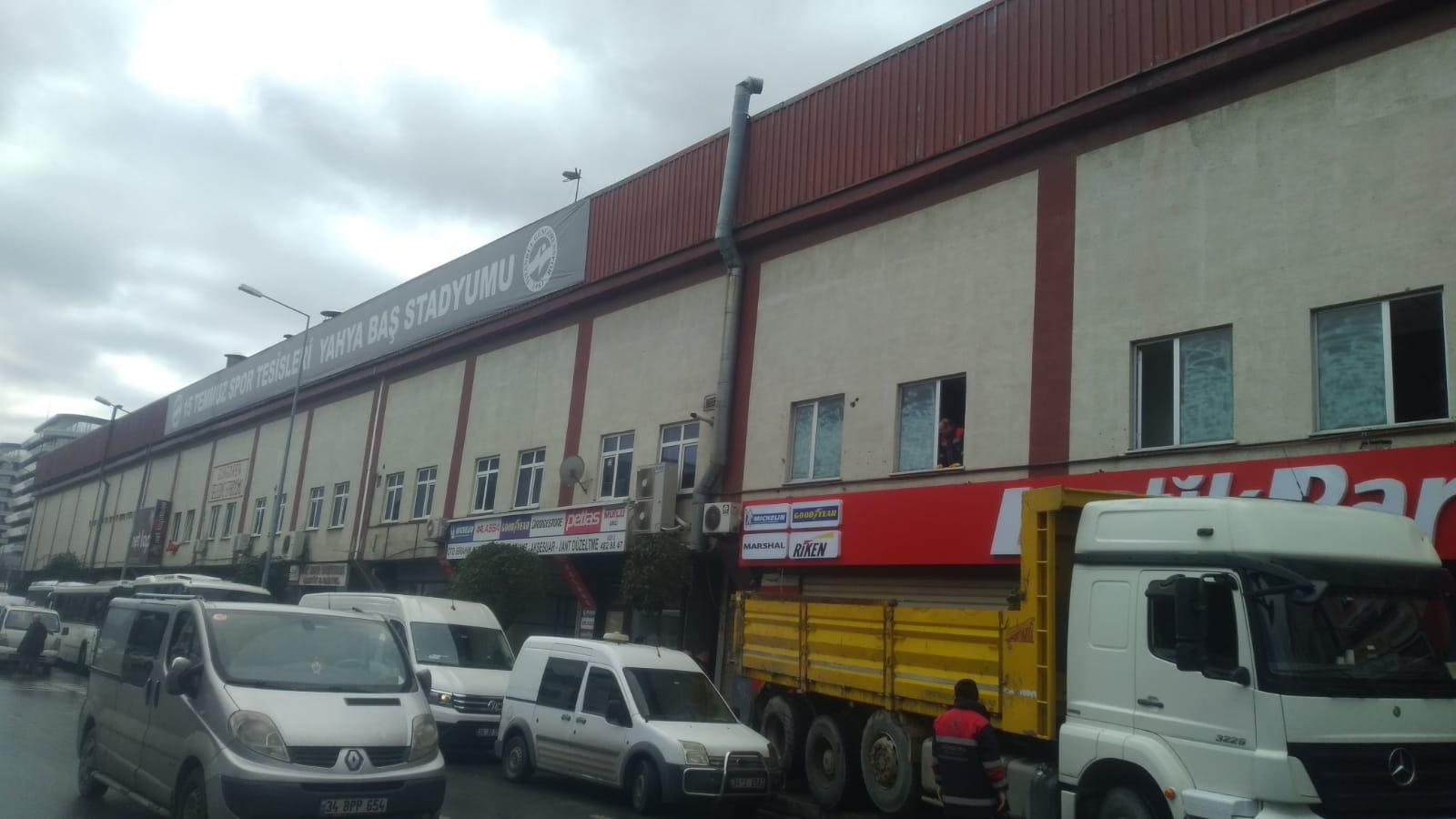 Mimar Yahya baş stadı yıkım ihalesi iptal edildi
