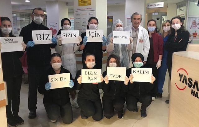 Özel Yaşar Hastanesi Sağlık Çalışanları