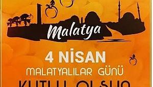 Battalgazinin Torunlarından 4 Nisan Dünya Malatyalılar Günü kutlama mesajı