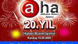 Akbaba Haber Ajansı 20 yaşında