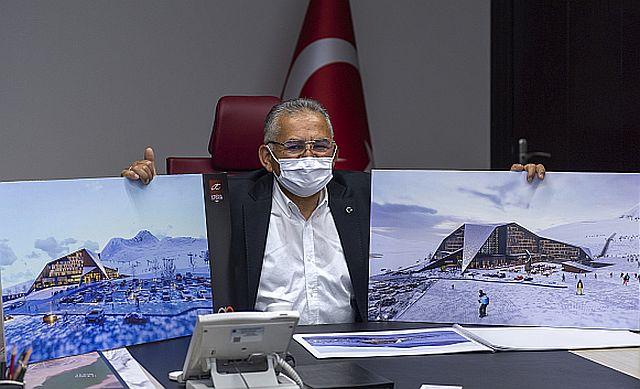 Dr. Memduh Büyükkılıç müjdeyi verdi, Xperia Otelleri Erciyes'e yatırım yapacak