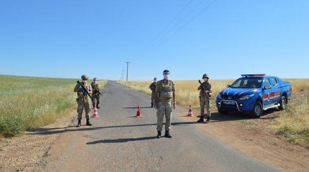 Adıyaman'da Kuştepe ve Sarıharman 2 köy karantina altına alındı