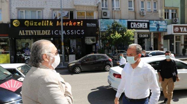 Başkan Dr. Süleyman  Kılınç,  CHP'nin kapısını çalarak HAYIRLI OLSUN dedi.