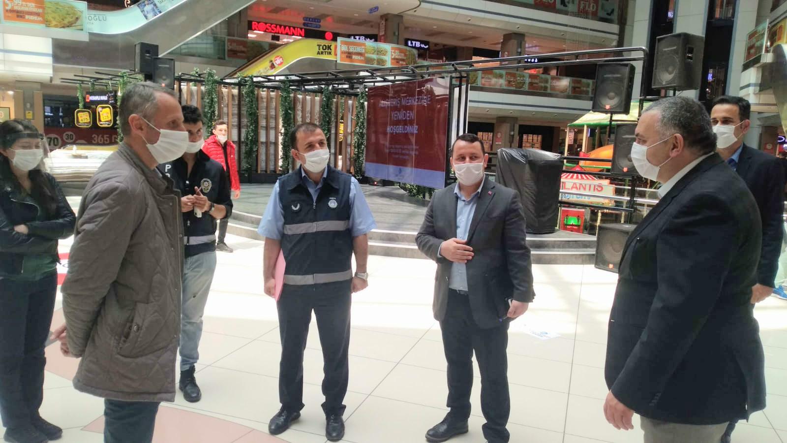 Kale outlet Center pandemi kurallarında taviz vermiyor