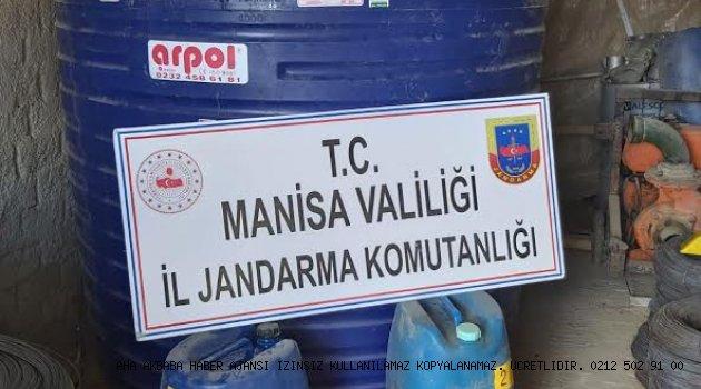 Manisa Jandarması Yakıt kaçakcısının düzeneğine çomak soktu